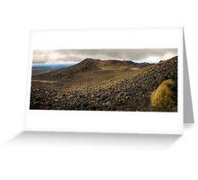 Volcanic Paradise, Mt Tongariro Greeting Card