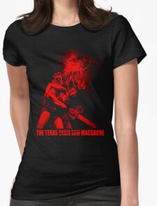 TEXAS CHAINSAW MASSACRE Womens Fitted T-Shirt