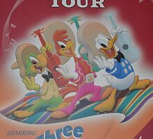 Jose Panchito Donald Duck Amigos 3 Caballeros by notheothereye