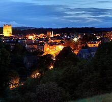 Richmond At Night by Mat Robinson