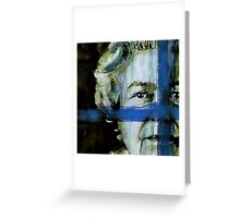Her Majesty's a pretty nice girl Greeting Card