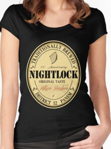 Lovely day for a Nightlock Women's Fitted Scoop T-Shirt