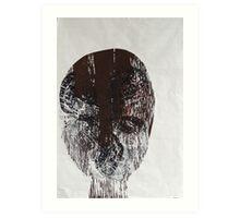 papilio aegeus ,butterfly mask Art Print