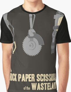 The rock, paper, scissors of the Wasteland Graphic T-Shirt