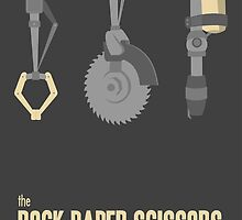 The rock, paper, scissors of the Wasteland by paulaxd