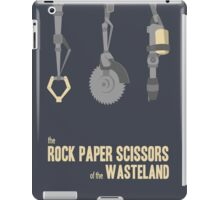 The rock, paper, scissors of the Wasteland iPad Case/Skin