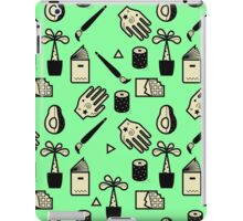 Pattern - Usuals Objects iPad Case/Skin