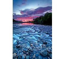 River run dawn Photographic Print