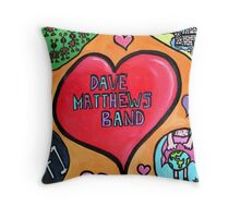 DMB Tribute Throw Pillow