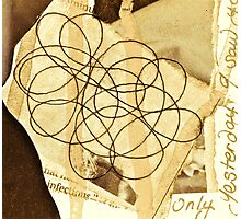 The Story Behind The Theory Of String Photographic Print