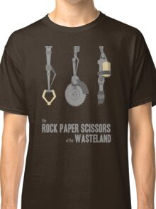 The rock, paper, scissors of the Wasteland Classic T-Shirt