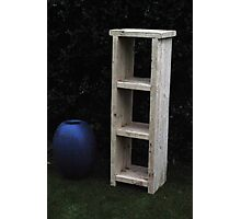CROFT HOUSE FURNITURE ARTISAN STEVE MALLENDER - SLIM SHELVES Photographic Print