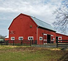 The Barn at Frying Pan Park by Bine