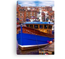 Whitby Fishing Trawler. Canvas Print