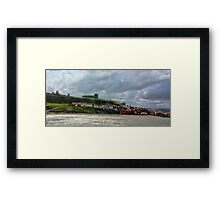 Over Looking Whitby Framed Print