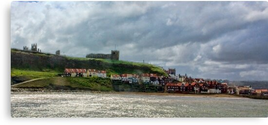 Over Looking Whitby by Trevor Kersley