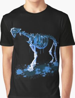 Drip Dry Sabre Tooth Tiger Graphic T-Shirt
