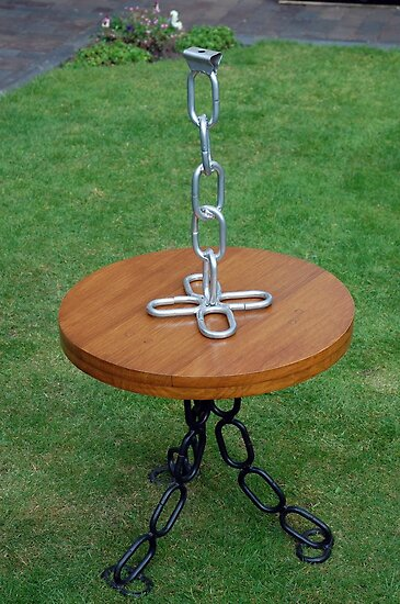 CROFT HOUSE FURNITURE ARTISAN STEVE MALLENDER - Single STRAIGHT CHAIN LAMP by Tuartkatz