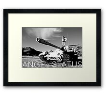 Angel Status® Project Soldier Art Collection. (Limited Edition) Framed Print