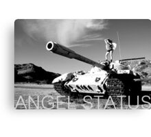 Angel Status® Project Soldier Art Collection. (Limited Edition) Canvas Print