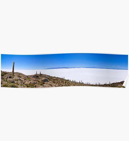 Salar de Uyuni Panorama Poster