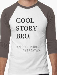 Metadata matters Men's Baseball ¾ T-Shirt