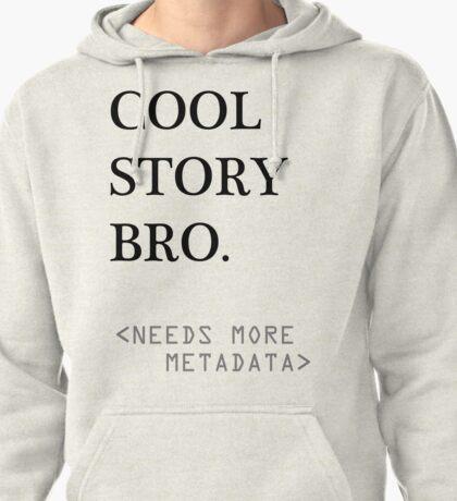 Metadata matters Pullover Hoodie