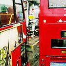 London Busses ... by bubblehex08