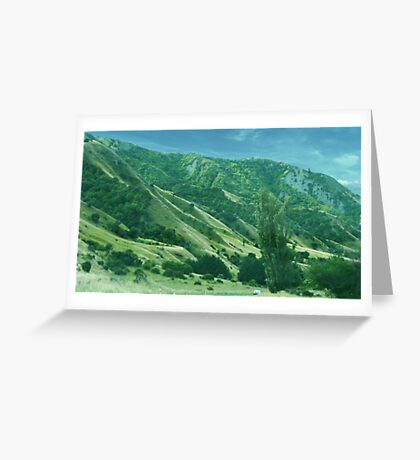 Green Hill Greeting Card