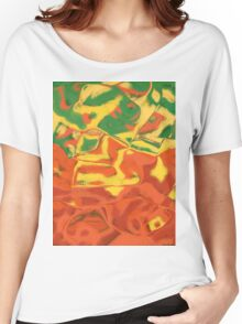 0106 Abstract Thought Women's Relaxed Fit T-Shirt
