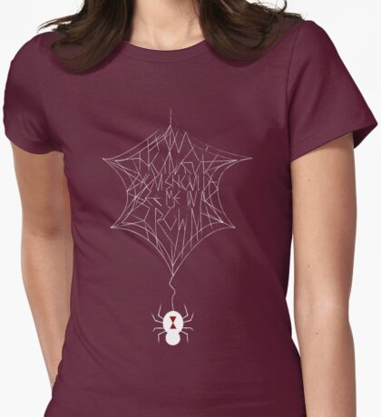 Honey You Should See Me In A Spider's Web  Womens Fitted T-Shirt