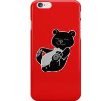 Black Bear Cub iPhone Case/Skin