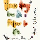 A father's Day card for a Step Dad.  by twisteddoodles