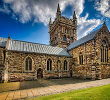 Wimborne Minster by hebrideslight