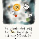 The Poor Sun.  by twisteddoodles
