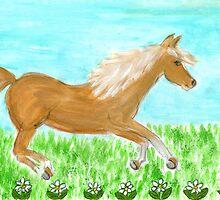 palamino pony by Hbeth