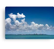 Cloudy Darwin Canvas Print