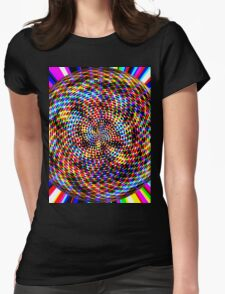 0994 Abstract Thought Womens Fitted T-Shirt