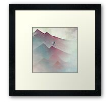 A Journey In My Dream Framed Print