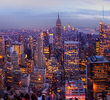 New York Skyline Panorama by Yhun Suarez