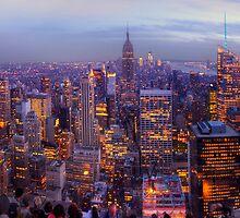 New York Skyline Panorama by Yhun Suarez
