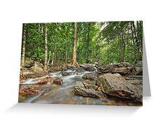 Florence Falls Creek Landscape Greeting Card