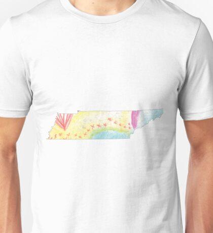 Tennessee chalk Unisex T-Shirt