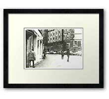 Cockburn Street Framed Print