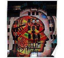 Vivid 2012 - Light Show MCA Facade 4 Poster