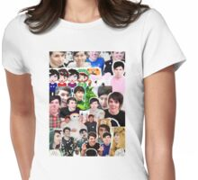 Phan Collage Womens Fitted T-Shirt