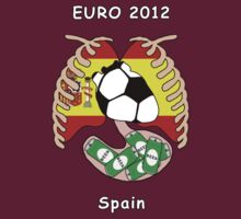 Spain in Euro 2012 by dreamkripted