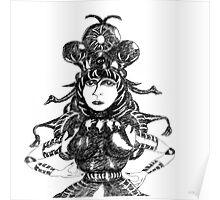 Queen Drawing Poster