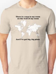 The Front Bottoms Maps  T-Shirt
