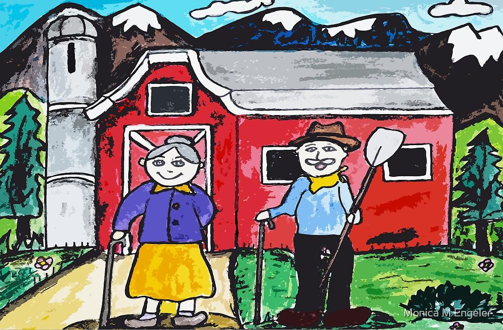 Grandpas Farm by Monica Engeler